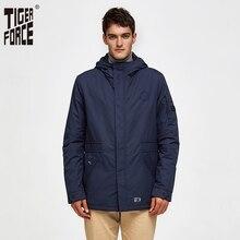 타이거 포스 2020 새로운 도착 남자 봄 가을 재킷 고품질 패션 폭격기 재킷 Windproof 남자 코트 겉옷 50235
