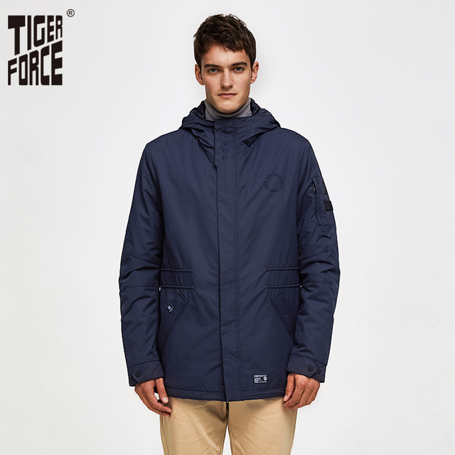Tiger Force 2020 new arrival men spring autumn jacket high quality Fashion Bomber Jacket Windproof Man Coat Outerwear 50235