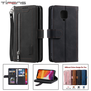 Luxury Zipper Wallet Note9S Ca