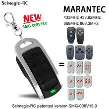 Marantec الرقمية 868 ميجا هرتز باب المرآب بوابة مفتاح تحكم عن بعد فوب MARANTEC يده الارسال المرآب تحكم القيادة 433MHz