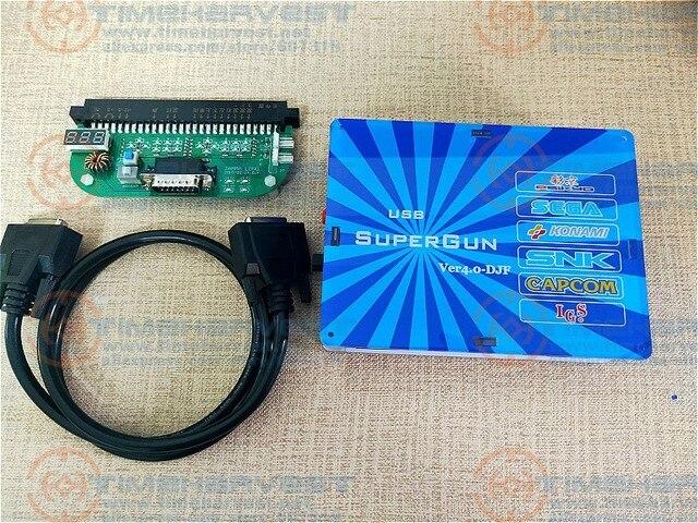 Nouveau JAMMA à USB Joypad et SNK DB15 Gamepad Super CBOX V4.0 avec convertisseur externe pour toute carte mère
