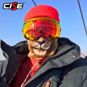 Image 4 - Balaclava Motorcycle Volgelaatsmasker 3D Dier Kat Hond Hoeden Helm Winddicht Ademend Paintball Snowboard Fietsen Ski Mannen Vrouwen