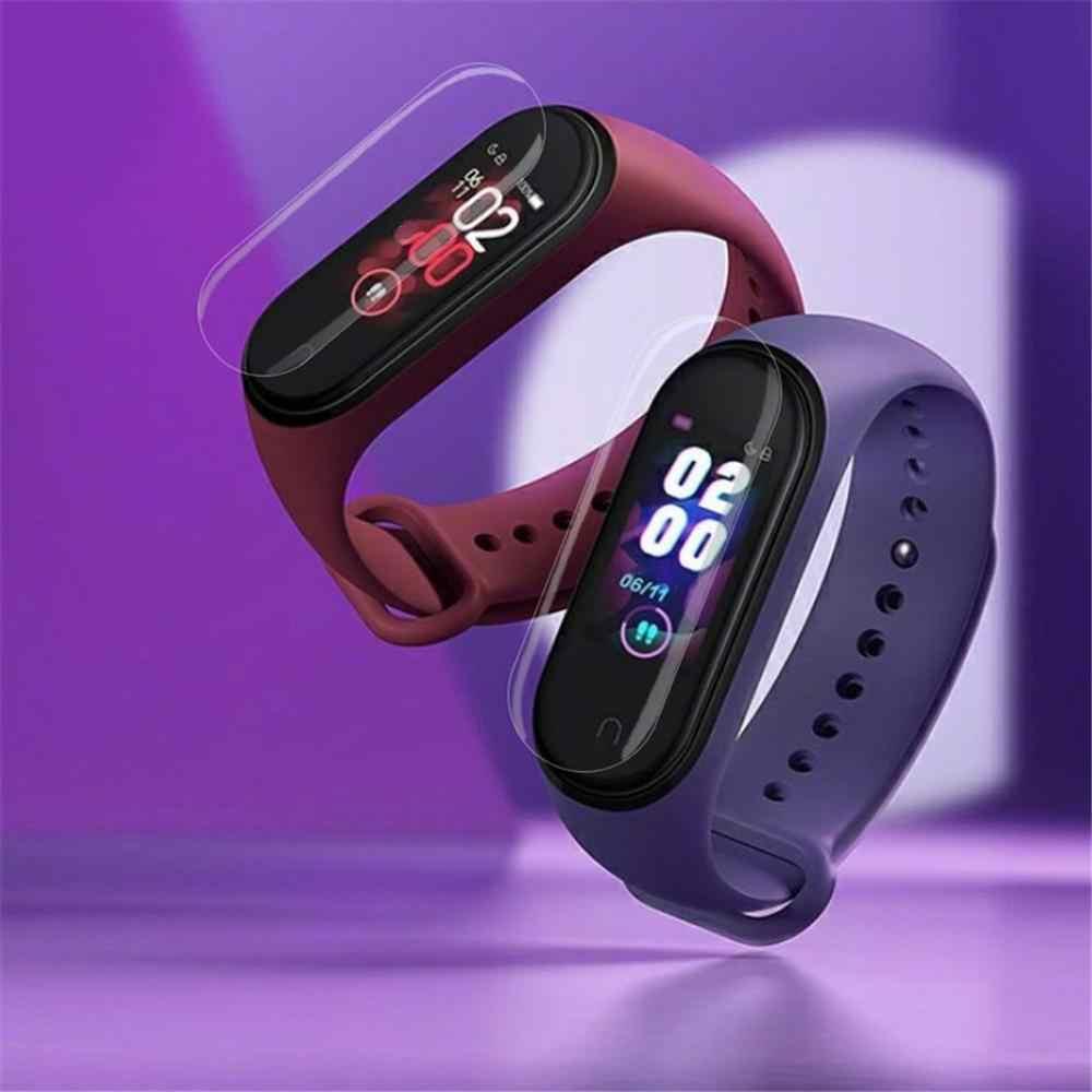 Pulsera inteligente reloj deportivo Pantalla Completa TPU HD película protectora suave paquete de cartón Kraft para pulsera Xiaomi S/s1 /2/3/4