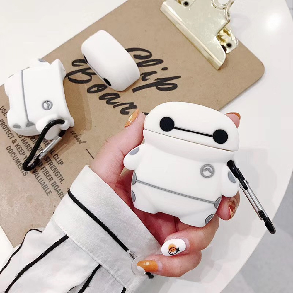 Tom Cute Cat Bluetooth Wireless Earphone Case For AirPods 1 2 Soft Protective Cover Accessories For Apple Airpods2 Charging Box