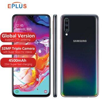 Купить Мобильный телефон samsung Galaxy A70 A705FN/DS, 6 ГБ, 128 ГБ, Snapdragon 675, две sim-карты, 6,7 дюйма, 32 МП, тройная камера, 4G, телефон