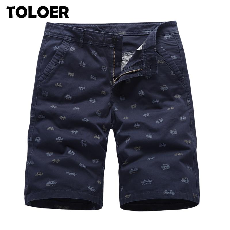 Printed Men Shorts 2020 Summer Mens Cargo Shorts Brand Army Military Tactical Shorts Men Cotton Loose Work Casual Short Pants 38