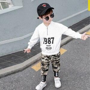 Image 4 - 3 4 5 6 7 8 9 10 11 12 ปีชายเสื้อผ้าเสื้อกางเกงเสื้อผ้าเด็กชุดเด็กฝ้ายชุดลำลองเด็กชุดสำหรับ Boy