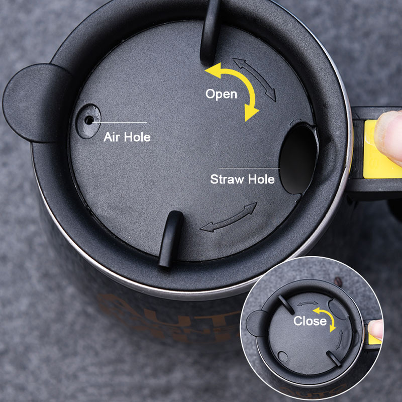 Hce89aefcb8ba480583fe88177b7639b0c New Automatic Self Stirring Magnetic Mug Creative 304 Stainless Steel Coffee Milk Mixing Cup Blender Smart Mixer Thermal Cup