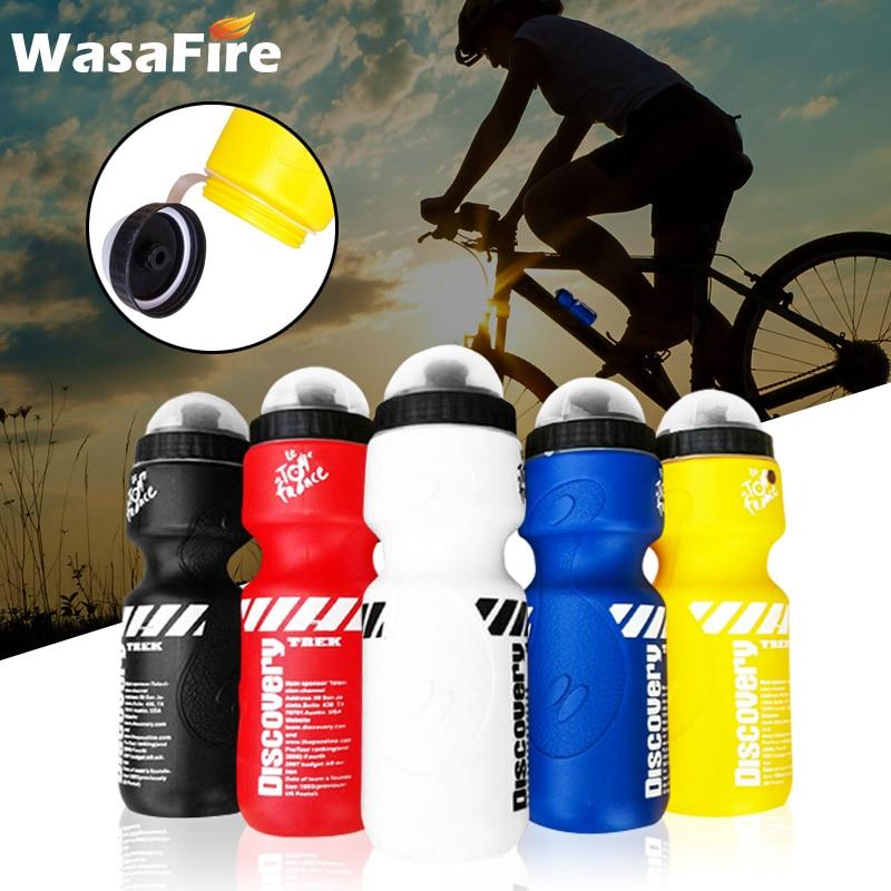 650ML Cycling Bike Water Bottle Outdoor Bike Bicycle Cycling Sports Drink Jug Bottle Holder Plastic Cycling Drink Water Bottle