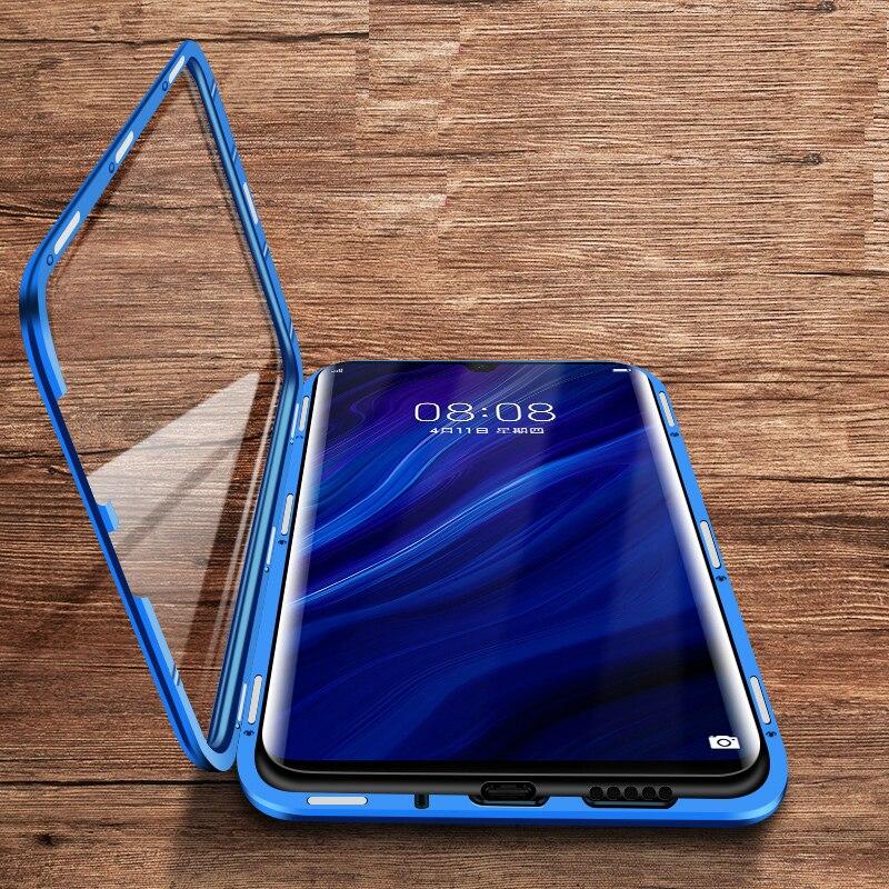 Двухсторонний Магнитный чехол книжка для Huawei Nova 5 Pro 5T 5Z, чехол с магнитным стеклом и полным покрытием для Huawei Nova 7 Pro 7SE 7i, чехол для телефона Специальные чехлы      АлиЭкспресс