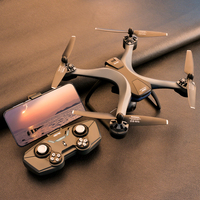 Drone profissional f5 4k, ângulo amplo, wifi e gps, para fotografias aéreas, rc, novo, 2021