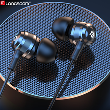 Langsdom auriculares Hifi híbridos con armadura de equilibrio, auriculares Hifi dinámicos de 1BA + 1DD para teléfono móvil