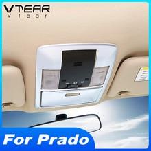 Vtear Für Toyota LAND CRUISER Prado 150 lesen lichter rahmen Trim Auto interior styling dekoration abdeckung zubehör teile 2020