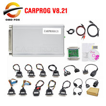 Carprog V8.21 V10.93 Car Prog ECU Chip Tunning Car Repair Tool Carprog V10.05 Programmer with All 21 Adapters Diagnostic Tool
