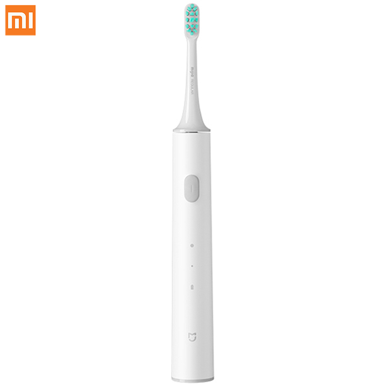 Original Xiaomi Mijia T300/T500Sonic Electric Toothbrush 2 Modes High Frequency Vibration Magneto 25 Day Battery Life Waterproof image