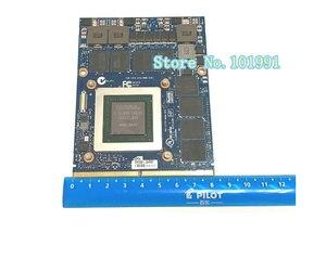 Image 2 - New Original GTX 980M Graphics Card GTX980M SLI X Bracket N16E GX A1 8GB GDDR5 MXM For Dell Alienware MSI HP Clevo notebook GPU