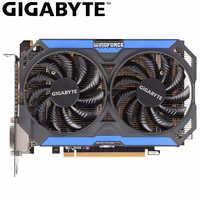 GIGABYTE Graphic Card NVIDIA GeForce GTX 960 2GB Gaming PC By GTX960 2GB 128Bit GDDR5 Hdmi Dvi Game Used Video Card