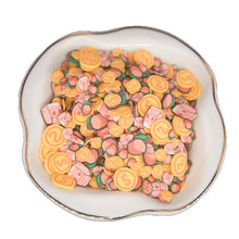 Lipstick Milk Gold Coin Litchi Shape Soft Polymer Clay Slices Sprinkles For Craft Dollhouse Decoration Gift Bottle Filling DIY