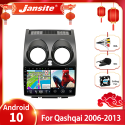 Jansite Android 10.0 For Nissan Qashqai 1 J10 2006-2013 Car Radio Multimidia Video Player Navigation GPS 2 Din Stereo Head unit