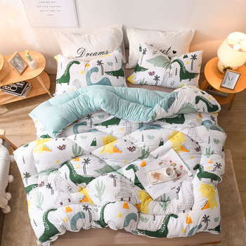 New Design Quilt Bedding Comforter Twin/queen/king Size Patchwork Home Duvet Thick Warm Quilts Luxury Printed Winter Blanket