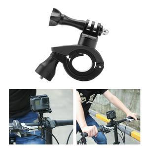 Image 4 - Cámara de acción para Go Pro, accesorios para bicicleta, motocicleta, soporte de montaje, Clip, correa de brazo para Gopro Hero 9/8/7/6/5/4/3 + negro