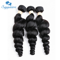 Перуанские волосы, пряди, свободные, глубокая волна, человеческие волосы для наращивания, remy волосы, можно купить, 3 пряди, натуральный цвет, ...