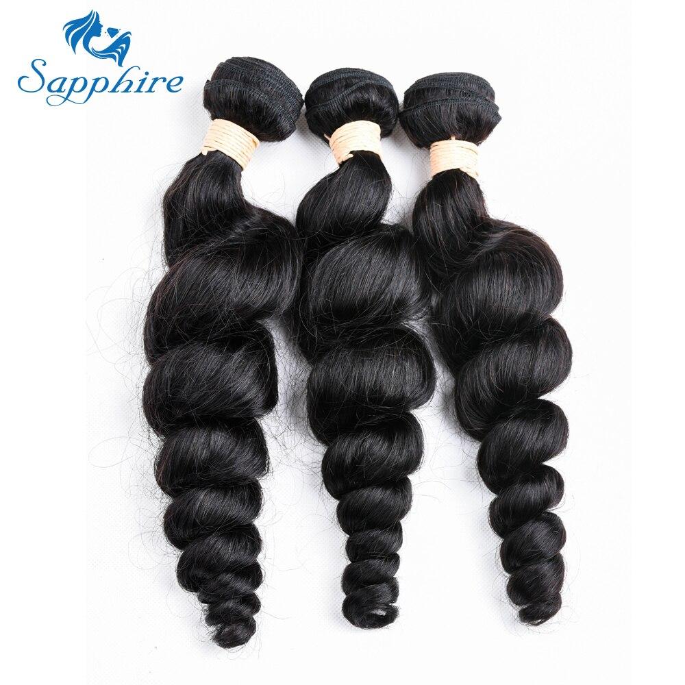 Peruvian Hair Bundles Loose Deep Wave Human Hair Extensions Remy Hair Can Buy 3 Bundles Natural Color Hair Weave
