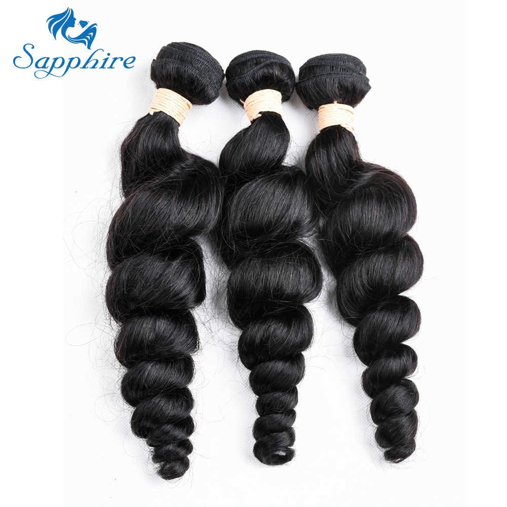 Peruwiańskie pasma włosów luźne głębokie fale doczepy z ludzkich włosów Remy włosy mogą kupić 3 wiązki włosy w naturalnym kolorze splot