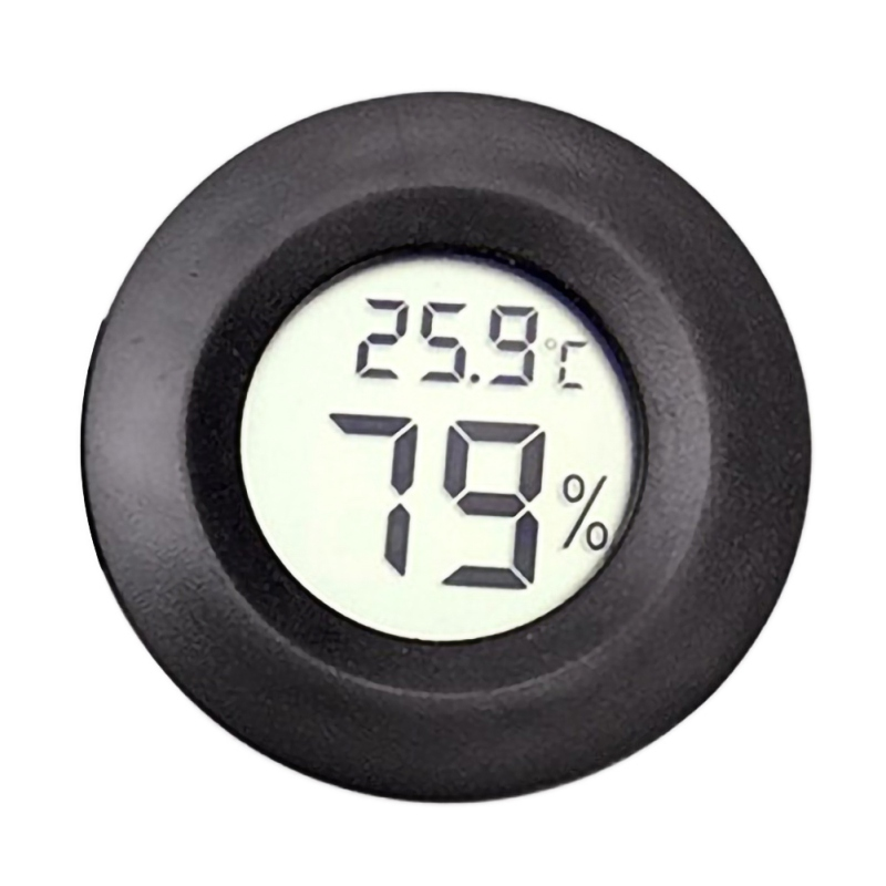 EDC Tool Multifunctional Outdoor Thermometer LCD Display Digital  Hygrometer Meter Camping Tourist Humidity Meter Gauge