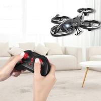 Mini Dron acrobático H853 para niños, plegable cuadricóptero 3D profesional con tapa, mantenimiento de la altitud, con Control remoto Dron, regalos, Juguetes