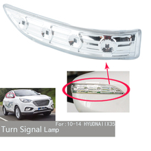 For Hyundai IX35 2009 2010 2011 2013 2014 2015 LED Rearview Mirror Light Dynamic Turn Signal Light Car Side Wing Indicator 2021