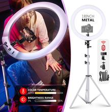 Ring-Light Light-Stand Neewer Video-Lighting-Kit:light-Ring 18-Inch Metal with Aluminium-Alloy