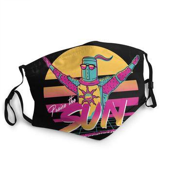 Praise The Sun Dark Souls Non-Disposable Mouth Face Mask Anti Haze Dust Protection Cover Respirator