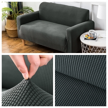 Velvet sofa covers for living room