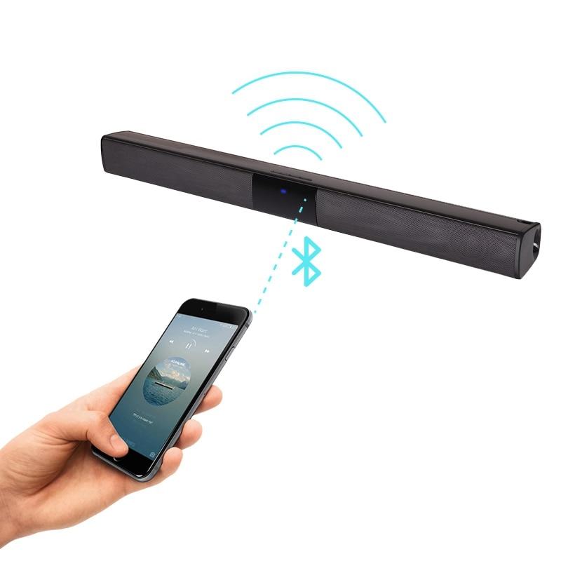 VTIN BS28B Wireless Bluetooth Soundbar Speaker TV Home Theater Soundbar Subwoofer with RCA 3D Stereo Surround Sound Speaker (8)