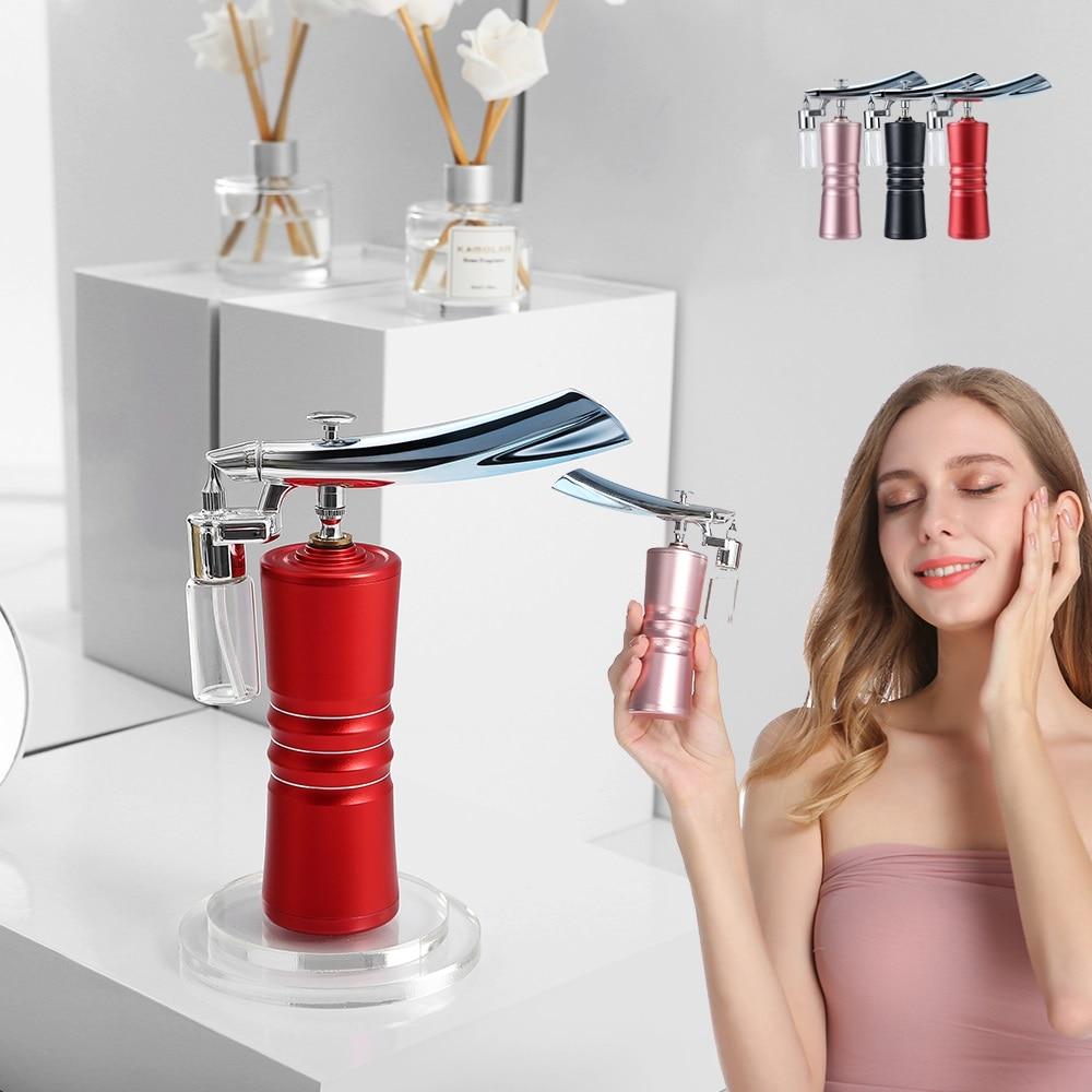 Double Action Airbrush Compressor Kit Spray Gun For Nail Art Cake Tattoo Paint Injector Skin Deep Hydration Water Oxygen Sprayer