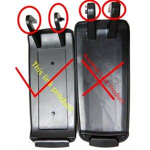 Image 2 - Кожаный чехол для защелка подлокотника автомобиля, 1 шт., чехол для Audi A6 C5 1998 2005, центральный приставка, коробка для хранения подлокотников, крышка, автомобильные аксессуары