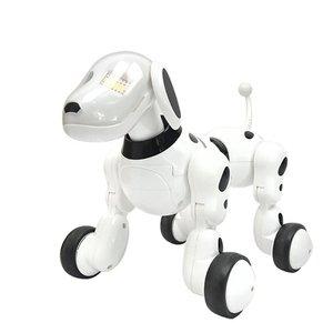 Bonito Perro inteligente con Control remoto infrarrojo Robot Sing Dance Walking electrónica inteligente Perro inteligente juguetes para niños regalo