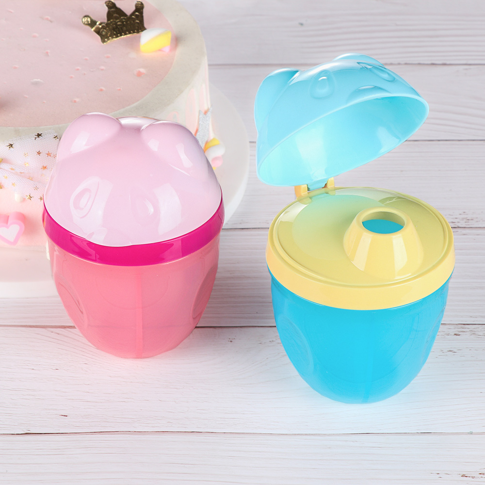 Milk Powder Dispenser 3Dose of Baby Feeding Formula Storage Snack Pot NEW
