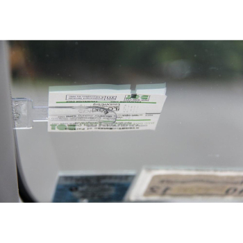 Car Stickers Mini Transparent Ticket Folder for Mini Cooper BMW E46 E39 E60 E90 E36 F30 F10 X5 E53 E34 E30 F20 E70 X6 X1 E87 m image