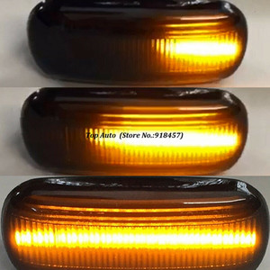 Image 3 - 2Pcs Led Dynamic Side Marker Turn Signal Light Sequential Blinker Lamp For Audi A3 8P A4 B6 B7 A8 A6 S6 C5 C6 4f Pre facelift