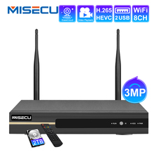 Wireless NVR Recorder Cctv-Camera-System MISECU Wifi ONVIF 8ch H.265 Network HDMI P2P