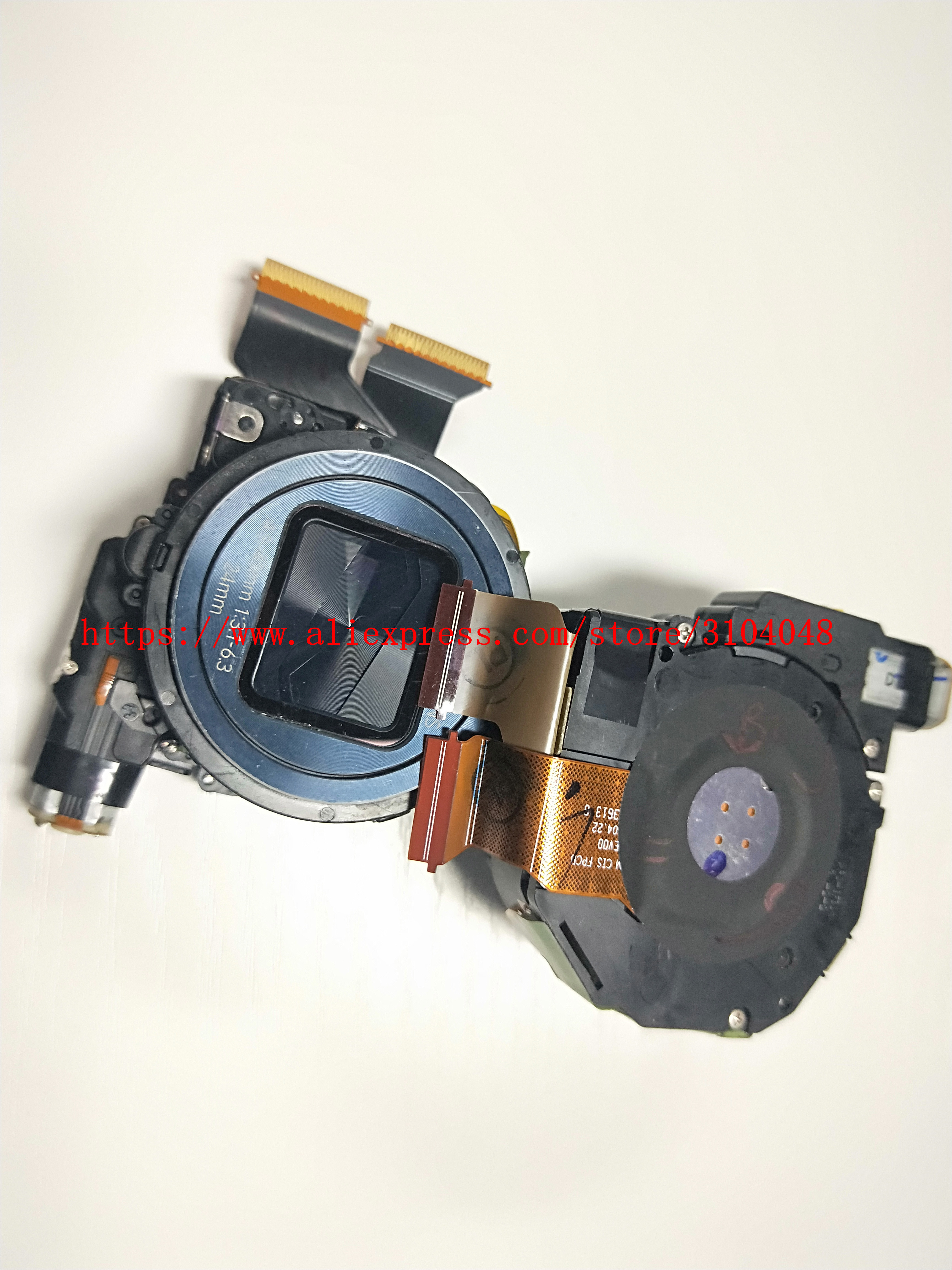 Original Lens Zoom Unit For SAMSUNG FOR GALAXY S4 Zoom SM-C101 SM-C1010 C1010 C101 Silver + CCD
