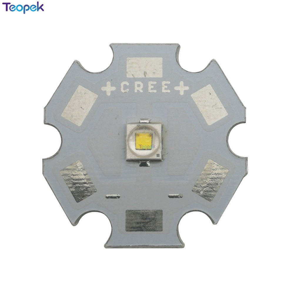 10x <font><b>Cree</b></font> XP-E2 <font><b>3W</b></font> <font><b>LED</b></font> Emitter Light XPE2 R3 Q3 Cool White/Nature White/Warm White Red Blue Yellow Green 8/10/12/14/16/20mm PCB image