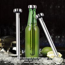 Refroidisseur de bière Portable en acier inoxydable, bâton de refroidissement de vin, refroidisseur de boisson glacée pour outils de cuisine 1 pièces