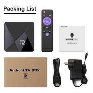 Image 5 - Thông Minh Android 9.0 TV Box Q1 Mini Rockchip RK3328 GB RAM 16GB Truyền Thông 2.4 WiFi Hỗ Trợ Thoại Từ Xa android Tivi Box Set Top Box