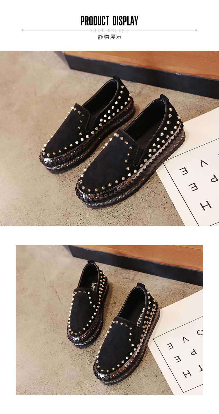 2019 Winter New Women Fur Loafers Comfortable Casual Platform Sneakers 73