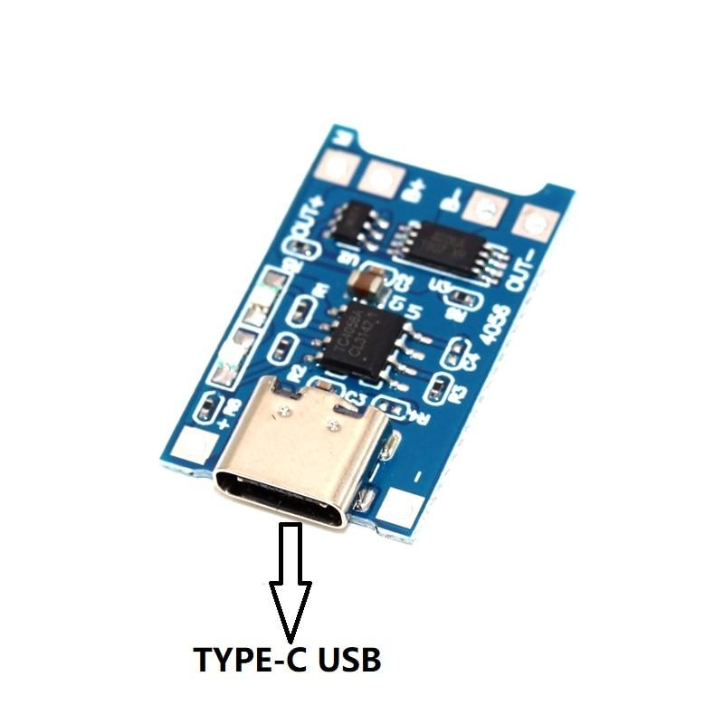 Купить защитная интегрированная плата tp4056 18650 для зарядки литиевой