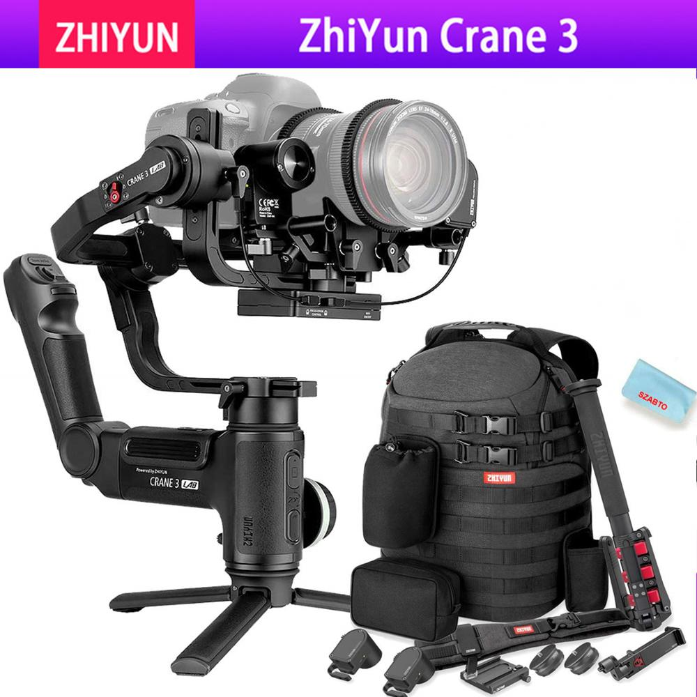 Zhiyun Crane 3 LAB 3 axis Gimbal Stabilizer for Nikon D850 gimbal dslr camera Sony A9