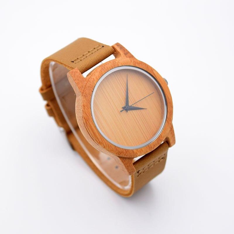 pulso de madeira de bambu pulseira de